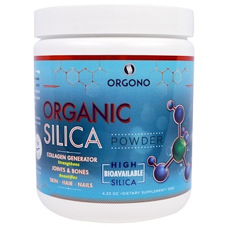 Silicium Laboratories LLC, Orgono, Organic Silica Powder, 4.23 oz (120 g)