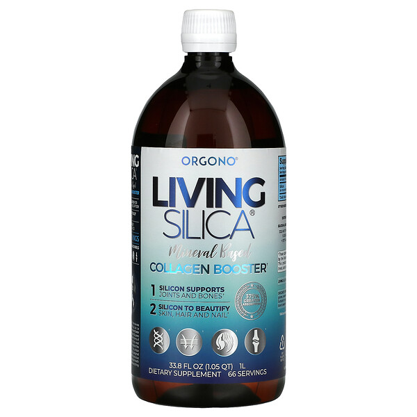 Orgono Living Silica, Collagen Booster, 33.8 fl oz (1 L)