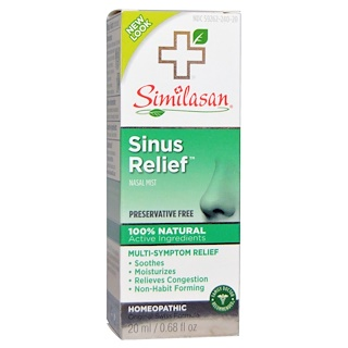 Similasan, Sinus Relief Nasal Mist, 0.68 fl oz (20 ml)