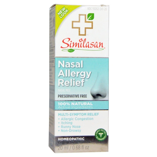 Similasan,  Apaisement de l'allergie nasale, 0.68 fl oz (20 ml)