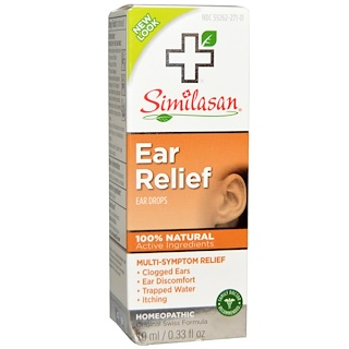 Similasan, Ear Relief, Ear Drops, 0.33 fl oz (10 ml)