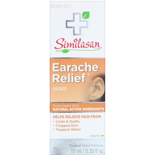 Similasan, Earache Relief, Ear Drops, 0.33 fl oz (10 ml)