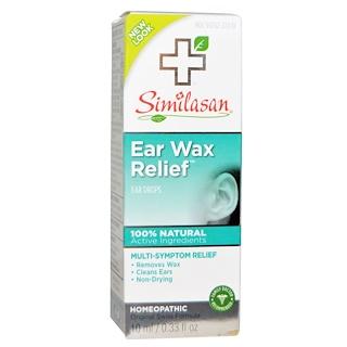 Similasan, Ear Wax Relief, Ear Drops, 0.33 fl oz (10 ml)
