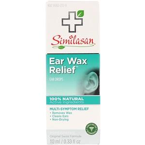 Симиласан, Ear Wax Relief, Ear Drops, 0.33 fl oz (10 ml) отзывы покупателей
