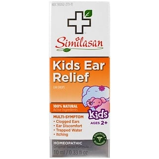 Similasan, Kids Ear Relief, Ages 2+, 0.33 oz (10 ml)