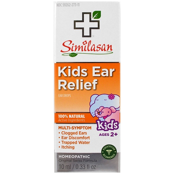 Similasan, 兒童滴耳液,2歲以上,0、33盎司(10毫升)