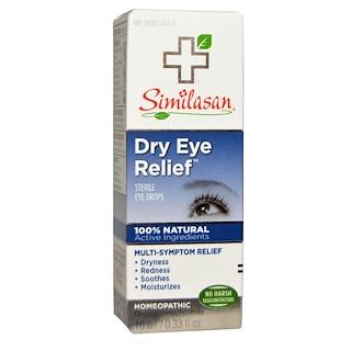 Similasan, Dry Eye Relief、無菌目薬、 0.33液量オンス (10 ml)
