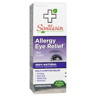 Similasan, Глазные капли от аллергии, 10 мл / 0.33 жидких унций