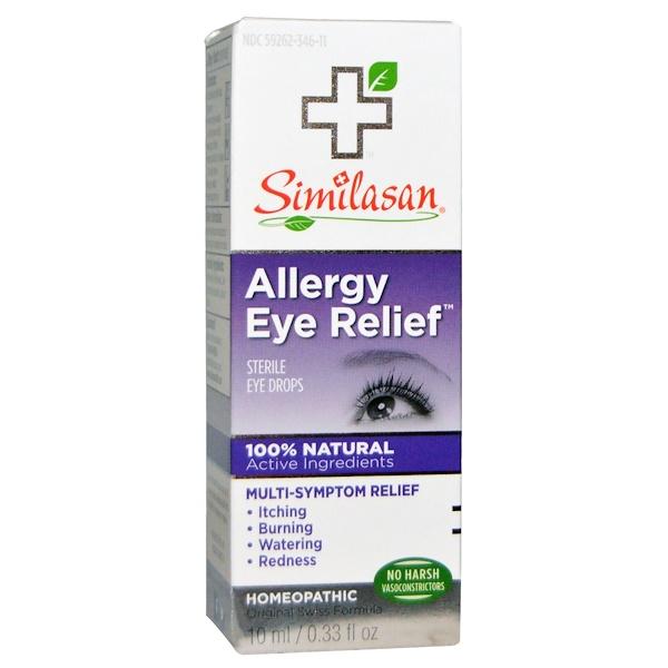 Similasan, アレルギーの目の緩和に、目薬、 0.33 fl oz (10 ml)