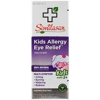 Similasan, Gouttes pour les yeux et allergies pour enfants, gouttes stériles pour les yeux, 2 ans et plus, 0,33 once liquide (10ml)
