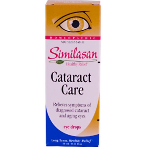 Similasan, Cataract Care Eye Drops, 10 ml/0.33 fl oz (Discontinued Item)