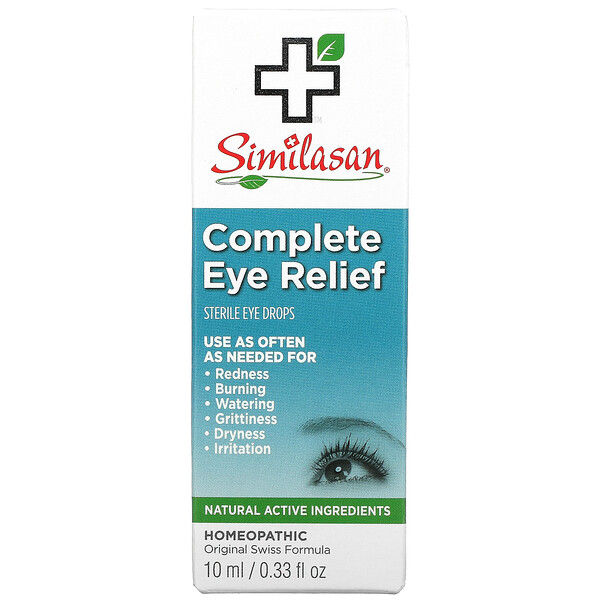 Complete Eye Relief, Sterile Eye Drops, 0.33 fl oz (10 ml)