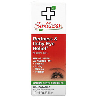 Similasan, Redness & Itchy Eye Relief, 0.33 fl oz (10 ml)