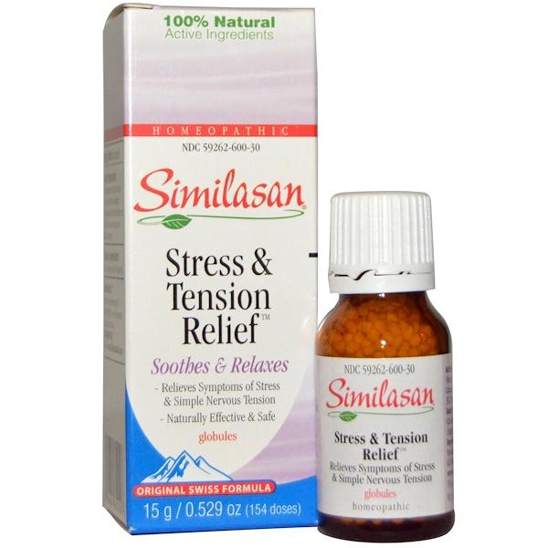Similasan, Stress & Tension Relief, 0.529 oz (15 g)