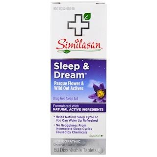 Similasan, Sleep & Dream, 60 Dissolvable Tablets