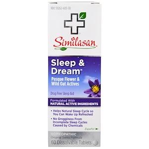 Симиласан, Sleep & Dream, 60 Dissolvable Tablets отзывы