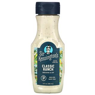 Sir Kensington's, Classic Ranch, 9 fl oz (266 ml)