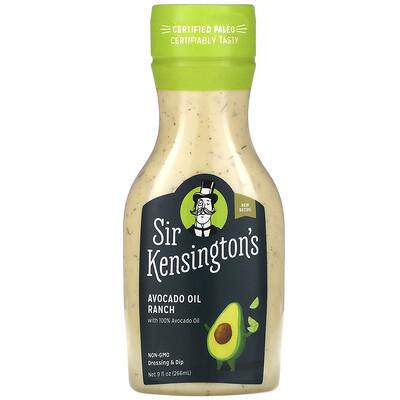 Sir Kensington's Avocado Oil Ranch, 9 fl oz (266 ml)