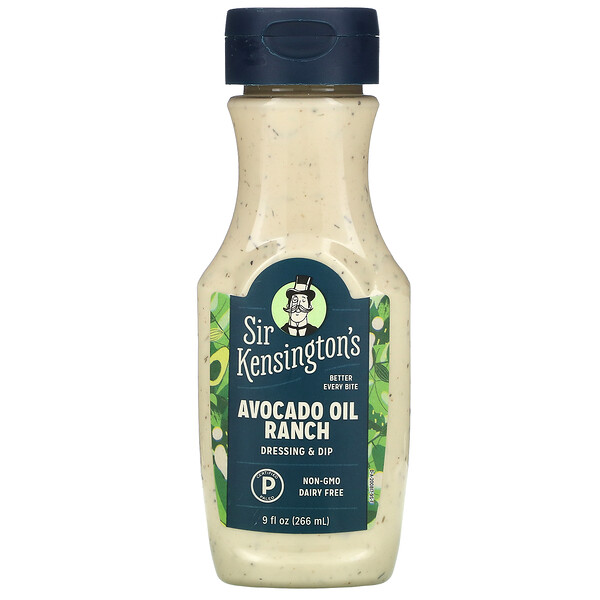Avocado Oil Ranch, 9 fl oz (266 ml)