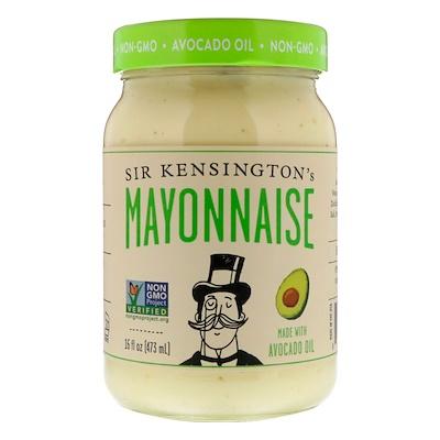 Sir Kensington's 由鱷梨油製成的蛋黃醬,16液盎司(473毫升)