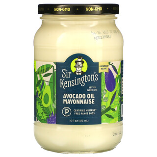 Sir Kensington's, Avocado Oil Mayonnaise , 16 fl oz (473 ml)