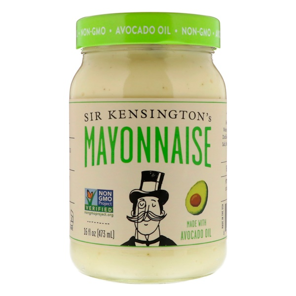 Sir Kensington's, Mayonnaise Made With Avocado Oil, 16 fl oz (473 ml)