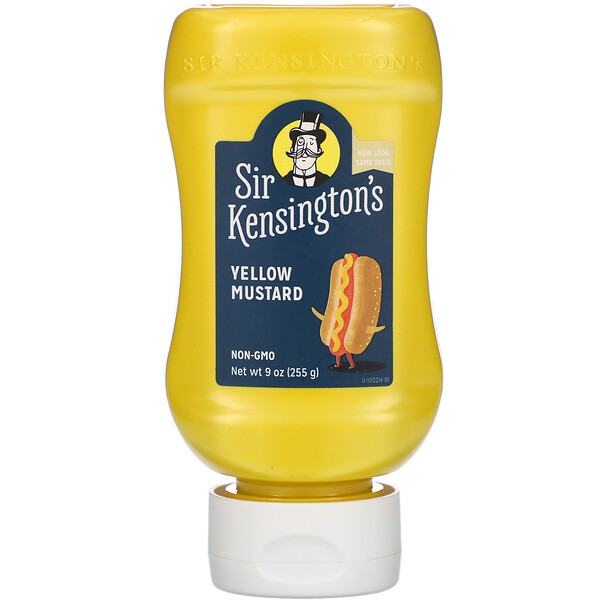 Yellow Mustard, 9 oz (255 g)