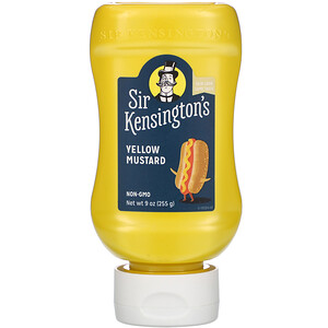 Sir Kensington's, Yellow Mustard, 9 oz (255 g) отзывы