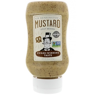 Sir Kensington's, Spicy Brown Mustard, 9 oz (255 g)