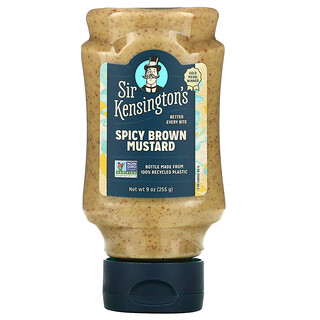 Sir Kensington's, Moutarde brune épicée, 9 oz (255 g)