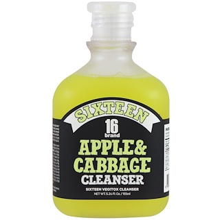 16 Brand, Vegitox Apple & Cabbage Cleanser , 5.24 fl oz (155 ml)