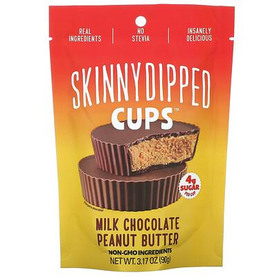 SkinnyDipped Cups, Milk Chocolate Peanut Butter, 3.17 oz (90 g)