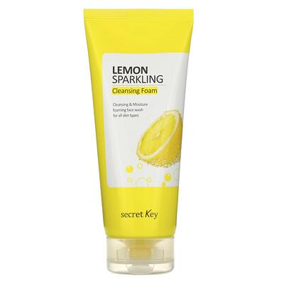 Купить Secret Key Lemon Sparkling Cleansing Foam, 7.05 oz (200 g)