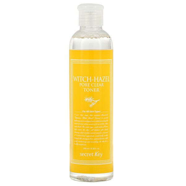 Secret Key, Witch-Hazel Pore Clear Toner, 8.38 fl oz (248 ml)