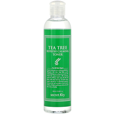 Купить Secret Key Tea Tree Refresh Calming Toner, 8.38 fl oz (248 ml)