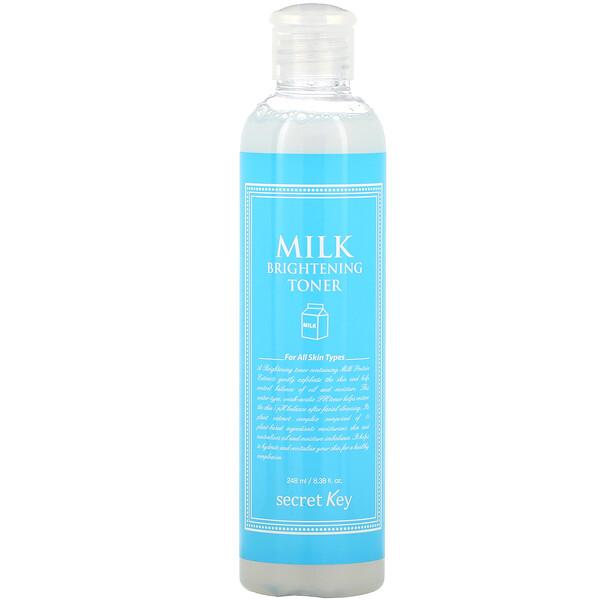 Secret Key, Milk Brightening Toner, 8.38 fl oz (248 ml)