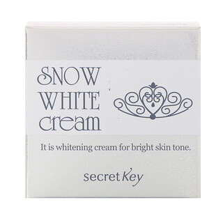 Secret Key, Snow White Cream, Whitening Cream, 50 g
