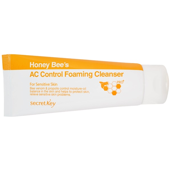 Secret Key, Honey Bee's AC Control Foaming Cleanser, 150 ml (Discontinued Item)