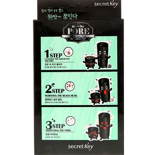 Secret Key, Black Out، حزمة مسام الأنف من 3-خطوات، 5 قطع