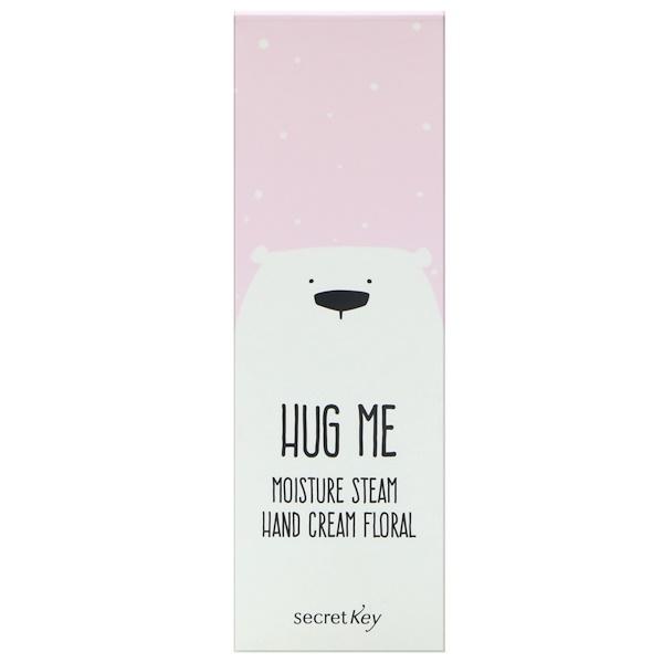 Secret Key, Hug Me, Moisture Steam Hand Cream, Floral, 1.01 oz (30 ml) (Discontinued Item)