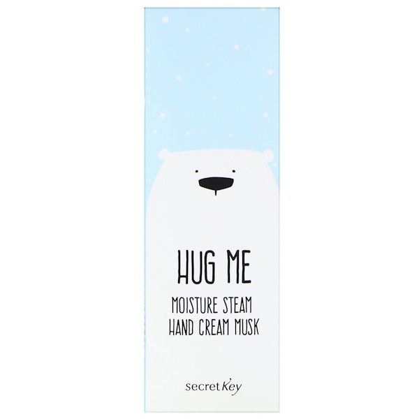 Secret Key, Hug Me, Moisture Steam Hand Cream, Musk, 5.07 oz (30 ml) (Discontinued Item)