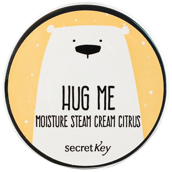 Hug Me, Moisture Steam Cream, Citrus, 2.82 oz (80 g)