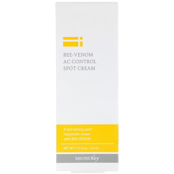 Secret Key, Bee-Venom AC Control Spot Cream, 1.01 fl oz (30 ml) (Discontinued Item)