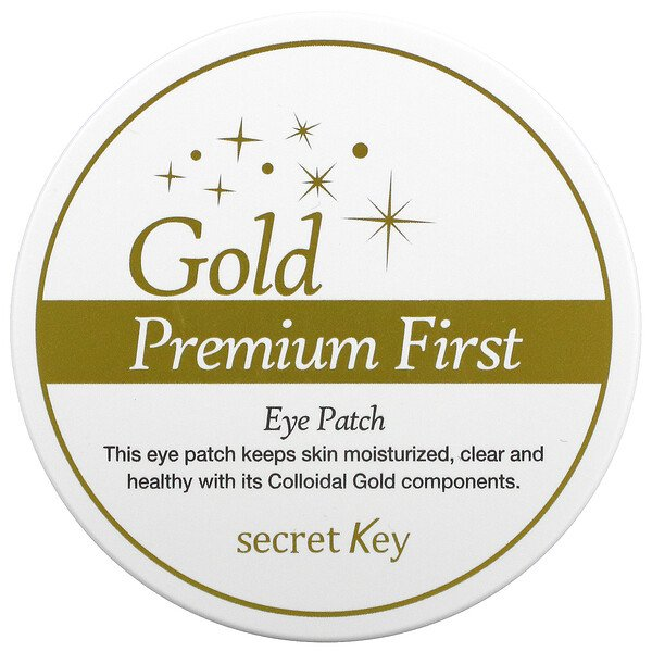 Gold Premium First, Eye Patch, 60 Patches, 3.17 oz (90 g)