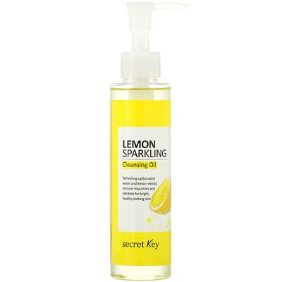 Купить Secret Key Lemon Sparkling Cleansing Oil, 5.07 fl oz (150 ml)
