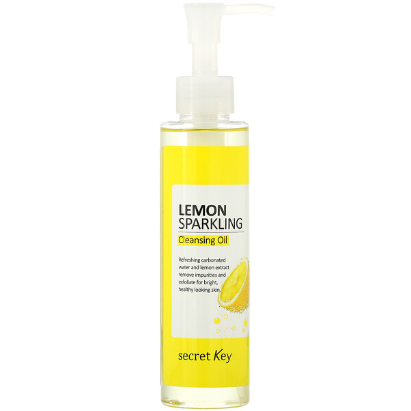 Secret Key, Lemon Sparkling Cleansing Oil,  5.07 fl oz (150 ml)