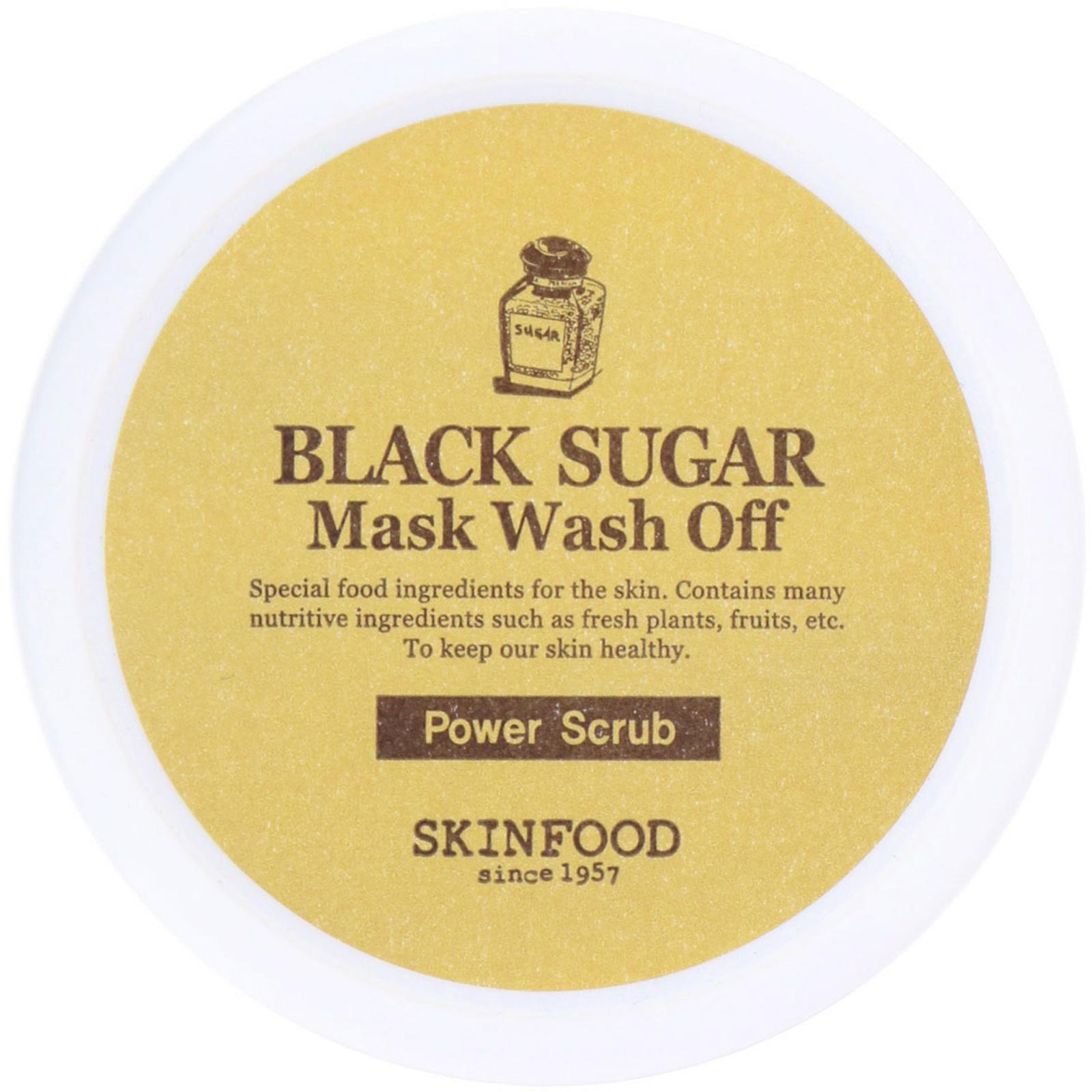 Black Sugar Mask Wash Off by Skinfood #13