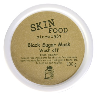 Skinfood, Black Sugar Mask Wash Off, 100 g