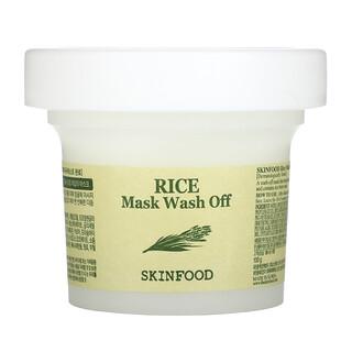 Skinfood, Rice Beauty Mask Wash Off, 3.52 oz (100 g)