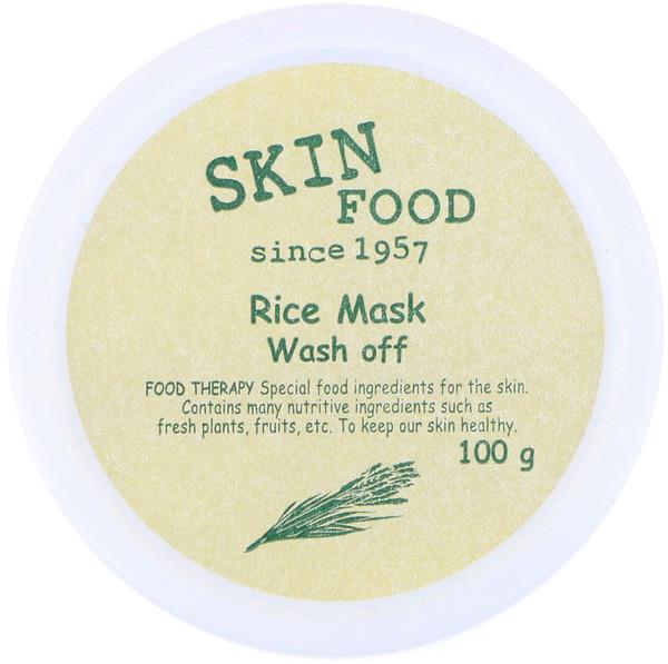 Skinfood, Rice Mask Wash Off, 3.52 oz (100 g)